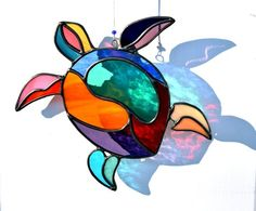 Stained Glass Suncatchers Panels by PixieDustGlassStudio on Etsy Stained Glass Suncatchers, Stained Glass Projects, Stained Glass Patterns, Stained Glass Art, Stained Glass Windows, Mosaic Glass, Mosaic Mirrors, Mosaic Wall, Broken Glass Art