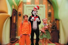 The Cat in the Hat, the movie A real feel-good-movie and im discovering new cute things about it every time I'm watching it.