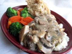 Mushroom Soup Smothered Chicken Breasts