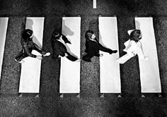 abbey road from above