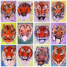 Learn To Draw Animals - Drawing On Demand Oil Pastel Colours, Pastel Art, Tiger Art, Tiger Head, Tiger Drawing Tutorial, Drawing Tutorials For Kids, Observational Drawing, India Art, Art Lessons Elementary