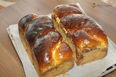 Cozonaci traditionali — Alina's Cuisine Deserts, Brunch, Bread, Sweet, Cakes, Holiday Foods, Pound Cake, Mascarpone, Kitchens