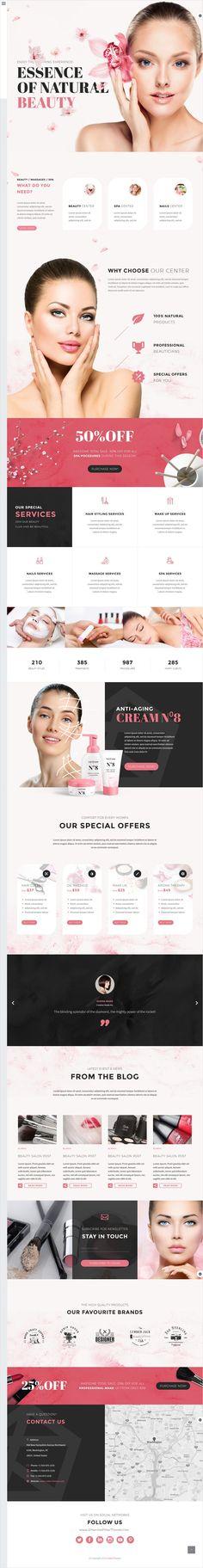 TheGem is a versatile #WordPress theme with modern creative design for #spa #beauty #salon website with 40+ stunning homepage layouts download now➩ https://themeforest.net/item/thegem-creative-multipurpose-wordpress-theme/16061685?ref=Datasata