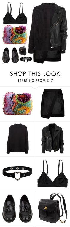 """""""Untitled #803"""" by mywayoflife ❤ liked on Polyvore featuring Ken Samudio, Ted Baker, The Row, Monki, Yves Saint Laurent and Kate Spade"""