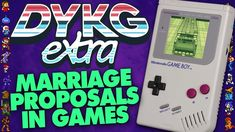 Marriage Proposals in Games - Did You Know Gaming? Video Game Facts, Marriage Proposals, Nintendo Games, Did You Know, Gaming, Youtube, Videogames, Game