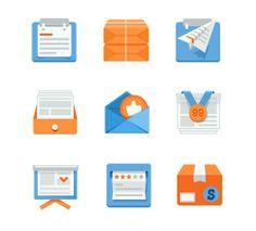 icon, app, design, mobile, flat