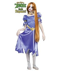 Once Upon a Zombie Rapunzel Girls/ Teen Costume @ niftywarehouse.com #NiftyWarehouse #Zombie #Horror #Zombies #Halloween