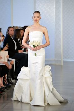 The Most Gorgeous Gowns From Bridal Fashion Week | Oscar de la Renta Bridal