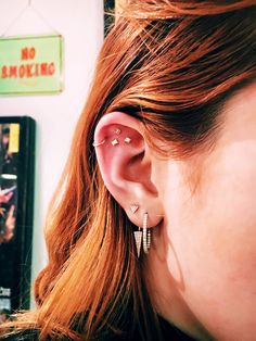 Bella Thorne's ear piercings are so cool and modern, we definitely want to copy.