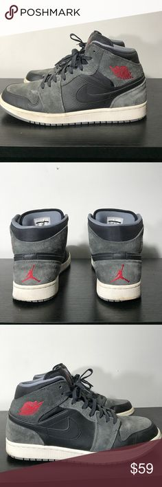 Nike Air Jordan 1 Size 11 Hello Everybody, I'm selling a pair of Nike Air Jordan 1's without the original box size 11. They are a 8/10 condition. If you have any questions at all, please feel free to ask!! Air Jordan Shoes Sneakers
