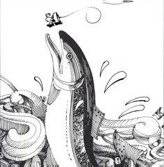 Don Weller - Book page illustration, 401 Design Meditations, 2005.