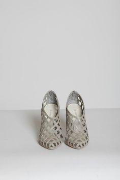 lattice sandals