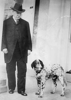 During his time in office former United States President Grover Cleveland had quite a few pets in the White House. However not much is known about these pets except their breeds. Cleveland had  a Cocker spaniel, Collie, St. Bernard, Dachshunds, and Foxhounds. If there had to be said that one of the dogs was most popular it would have to be Hector the black French poodle who belonged to Mrs. Cleveland.