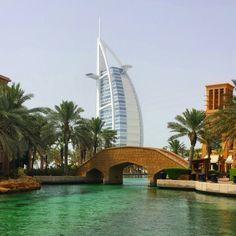 The 7 star #hotel Burj Al Arab #dubai #uae #burjalarab #tourism #travels #luxury
