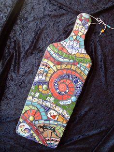 Mosaic Plaque   handcut plates, ashtrays and a San Antonio s…   Flickr