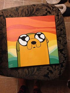 Adventure Time Painting Series: Jake the Dog!