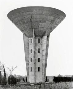 Old water towers tickle our brutalist fancies. Here are some excellent places where you can ogle this concrete eye candy