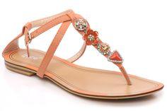 Runaway Kicks - Perfect Shoes! Flat sandal. Unze at www.pampermeshoes.com