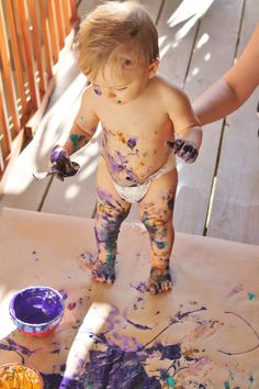 Edible paints for kids