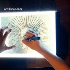 Art Drawings Sketches Simple, Pencil Art Drawings, Cute Drawings, Tween Gifts, Art Programs, Painting Videos, Drawing Techniques, Mandala Art, Creative Art