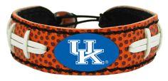 Kentucky Wildcats Classic Football Bracelet