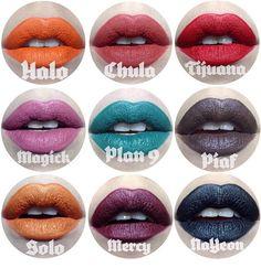 Kat Von D new lipstick shades !!!