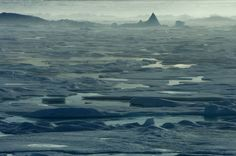 Arctic Travel Pictures - Pack Ice in Lancaster Sound