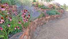 Terraces in the Santa Fe Landscaping