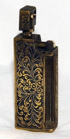 https://flic.kr/p/sX7xxv | Vintage Brass Cigarette Lighter, No Manufacturer Markings