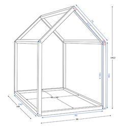 Comment construire un lit maison seul ? | Maman Louve