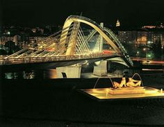 Ourense. Puente del Milenio. Galicia. España