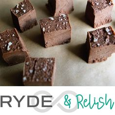 Book your bike for tomorrow evening and enjoy samples of nutritionist Ali Miller's raw-walnut-cacao fudge. It's a recipe from her latest cookbook Naturally Nourished: Food-as-Medicine for Optimal Health. She'll be signing copies at the studio! #rydeandrelish #healthyeats #naturallynourished