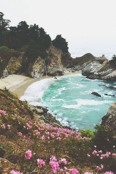 McWay Falls in Big Sur (the Coast Hwy -101)