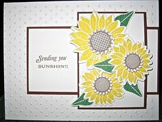 .PTI sunflower stamps