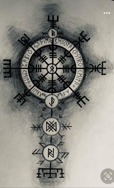Compass Tattoo, Tatoos, Watch, Knights, Norse Tattoo, Viking Tattoos, Clock, Bracelet Watch, Clocks