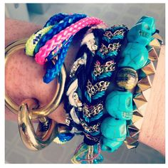 @merc_g wearing #theropes #portland multi-strand #bracelet #armsituation #armparty #armcandy #theropesmaine