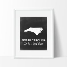 North Carolina Printable by SamanthaLeigh on Etsy
