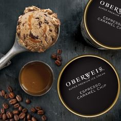 Any excuse is a perfect excuse to indulge in our Espresso Caramel Chip Super Premim Ice Cream! It's coffee ice cream with generous gooey caramel swirls, surrounding velvety dark chocolate espresso chips lightly dusted with sea salt. A perfect pick-me-up anytime! ☕ 🍨 😋 Pick some up at your local Oberweis store or place your order at www.oberweis.com and have it delivered right to your door! #oberweisdairy #oberweisdelivers #oberweisicecream #sogood