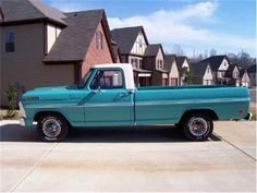 1968 Ford truck   1968 Ford Pick up F100 Has a new 390 cubic inch motor with only 1000 ...