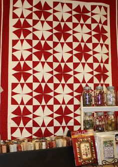 Red and White Circles