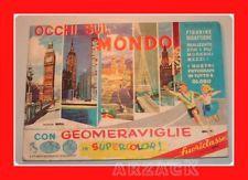 Album figurine MIRA 1966 OCCHI SUL MONDO geomeraviglie