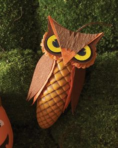Hanging Owl Treat Boxes