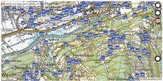Sion VS Wanderwege Karte trail http://ift.tt/2zSJkVZ #dataviz #gis
