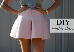 DIY Scuba Skirt, Great web site for sewing DIYs.