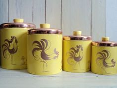 cannisters!