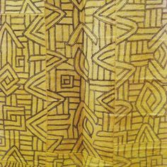 Perfect #pattern #embroidered #textile #zaire Matisse Museum
