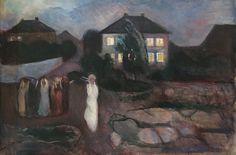 https://flic.kr/p/W5KeVK   Edvard Munch, The Storm, 1893, Oil on canvas, SFMOMA