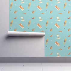 Isobar Durable Wallpaper featuring Aloha from Hawaii by tasiania | Roostery Home Decor