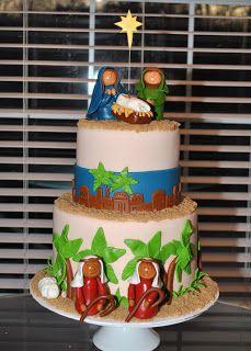 I adore this precious cake! Boy Birthday, Happy Birthday, Birthday Cake, Holiday Cakes, Christmas Cakes, Religious Cakes, Cake Decorating Designs, Star Wars Cake, Occasion Cakes