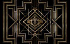Beautiful Art Deco Wallpaper Design Source: http://www.hdwallsource.com/